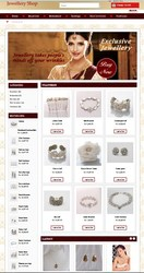 Special Offer Jewellery Shop Website
