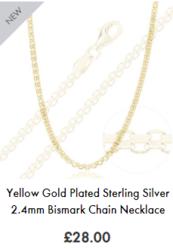 20 inch silver chain| the chain hut